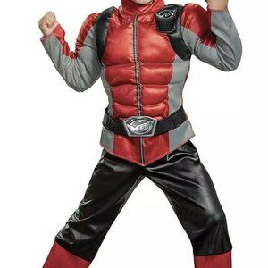 Red Ranger Beast Morpher Muscle Toddler size S 2T
